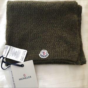 Moncler Sciarpa Scarf - Alpaca/Nylon/Wool